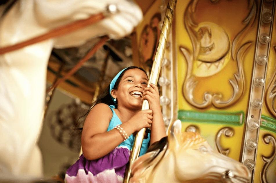 Child playing at Iberostar Riviera Maya resorts