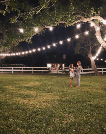 Joanna Gaines outside