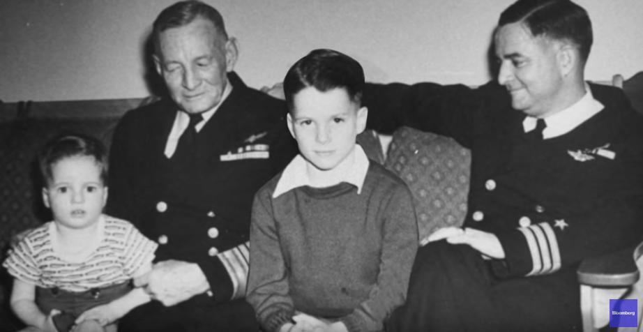 John McCain as a child