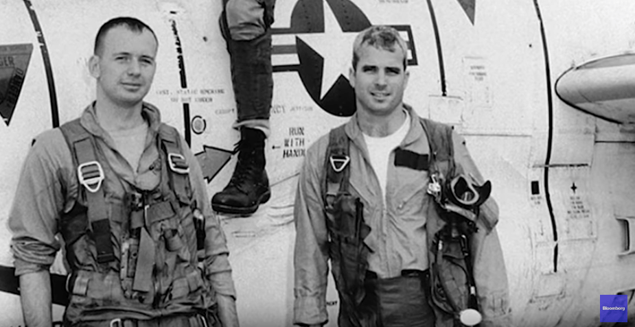 John McCain as a student in the U.S. Naval Academy