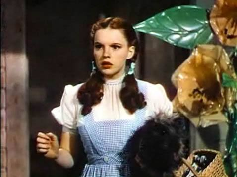 Judy Garland in The Wizard of Oz