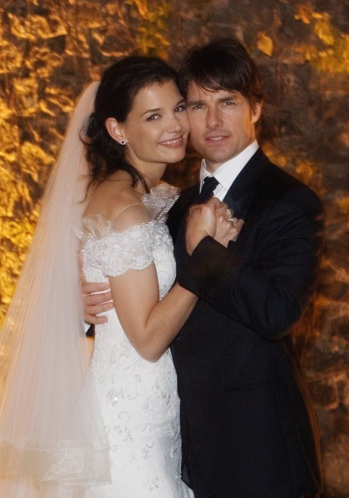 Tom Cruise And Katie Holmes - Wedding Day
