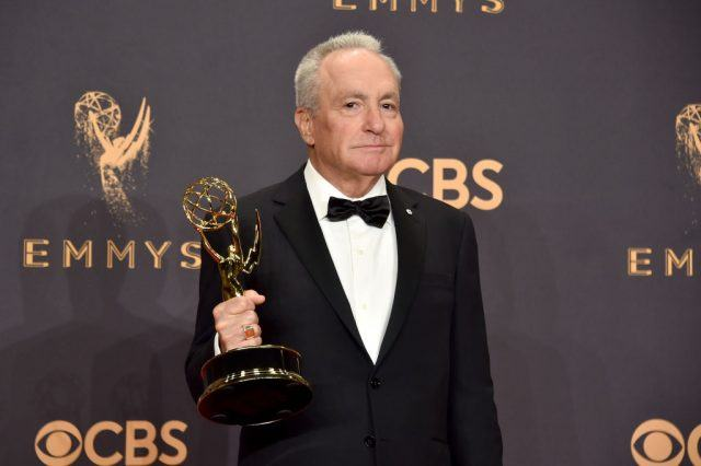 Lorne Michaels, winner of the award for Outstanding Variety/Sketch Series for 'Saturday Night Live,' in 2017