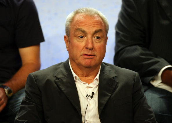 "Executive producer Lorne Michaels speaks for the television show ""Saturday Night Live"" in 2007"