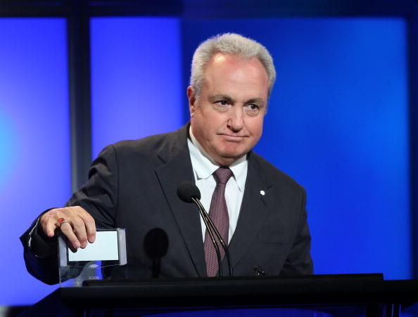 Lorne Michaels speaks during the 24th Annual Television Critics Association in 2008