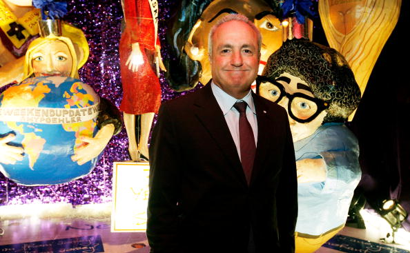 Creator of SNL Lorne Michaels attends the Barneys New York Unveils 2009 Holiday Window