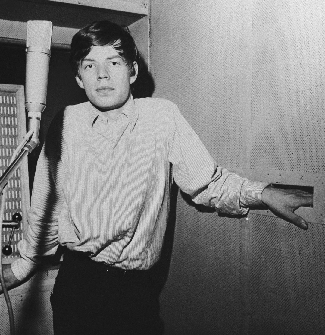 Rolling Stones singer Mick Jagger, circa 1963
