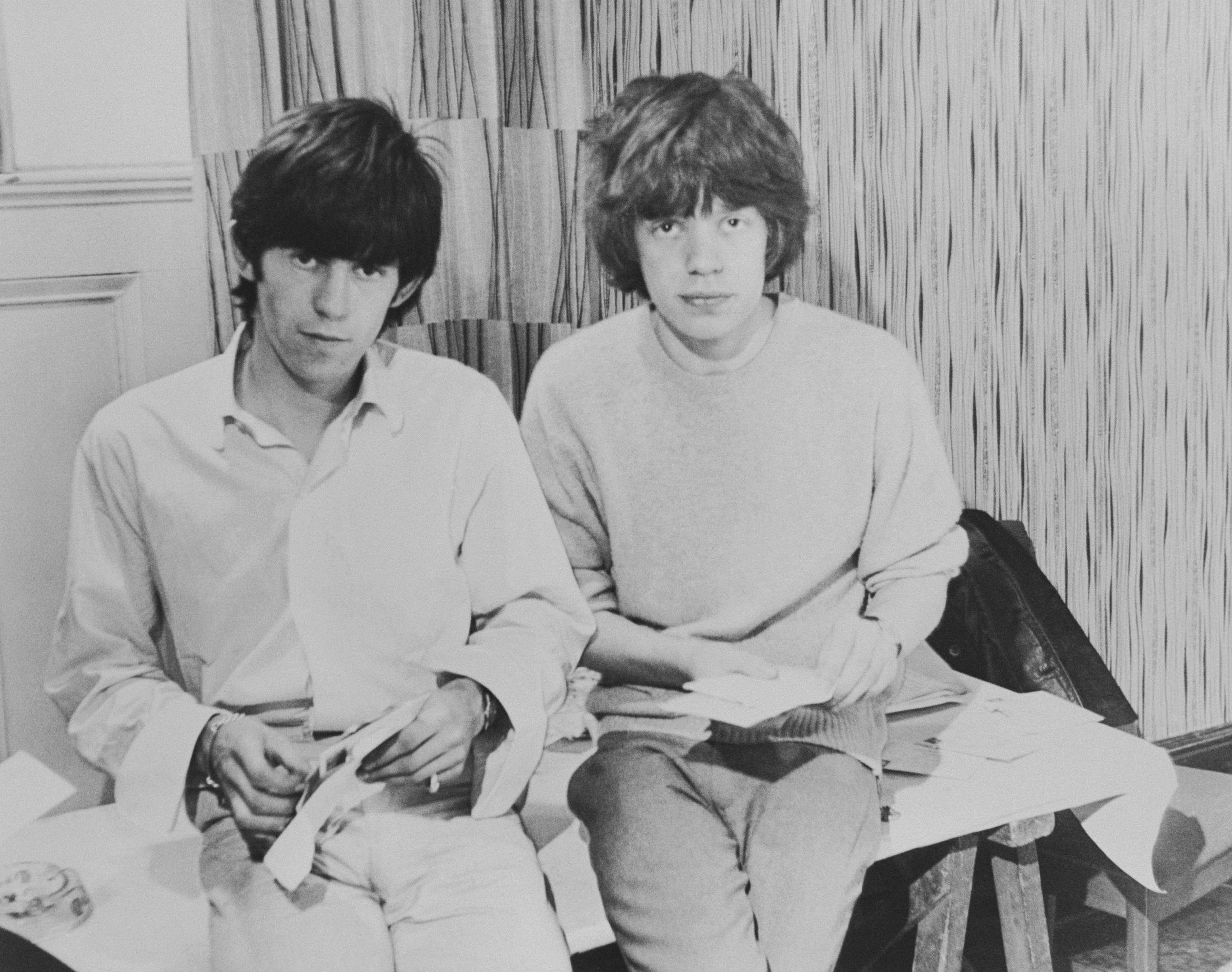 Mick Jagger circa 1963