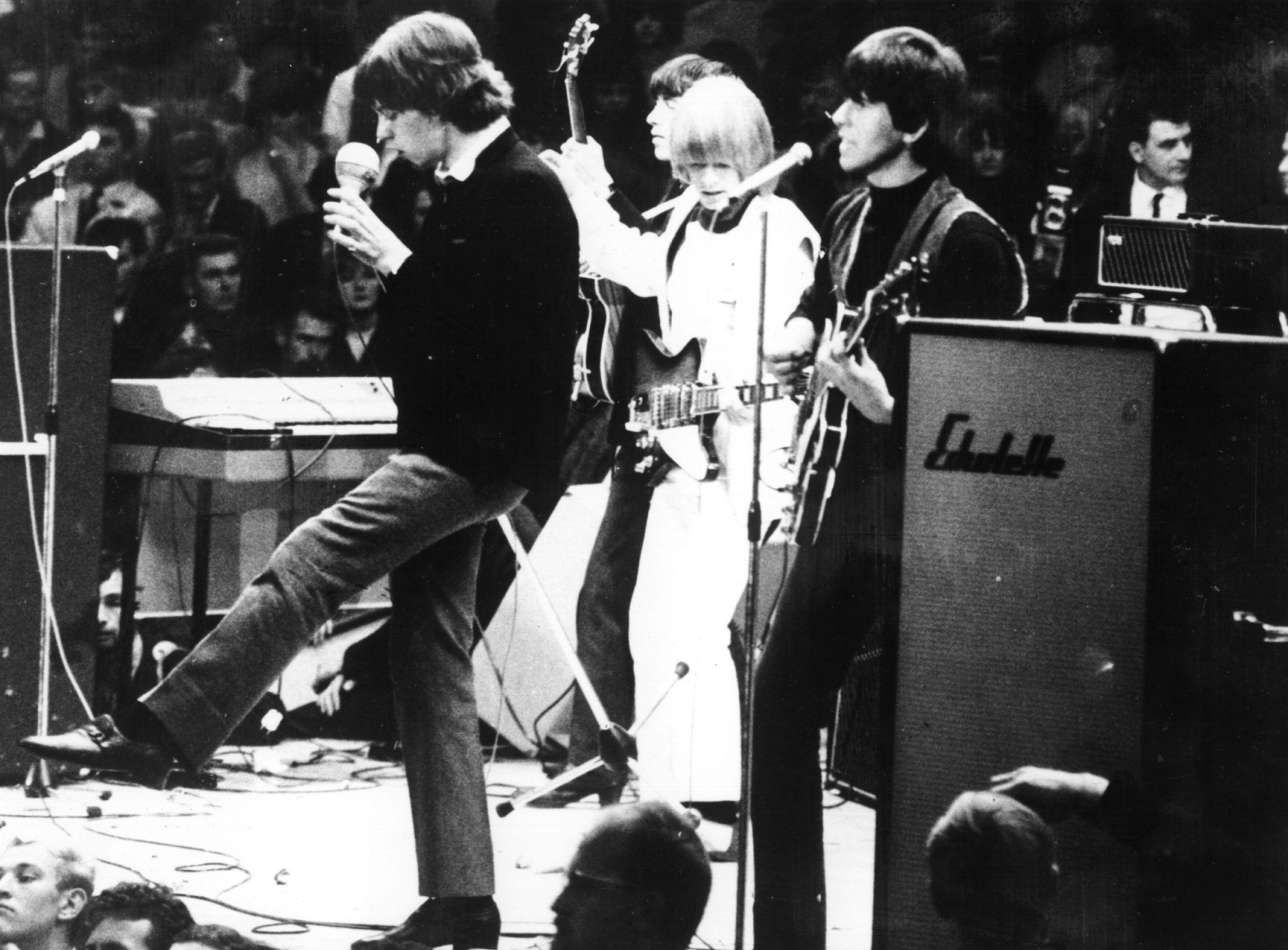 Rolling Stones Mick Jagger in Berlin Oct. 1 1965