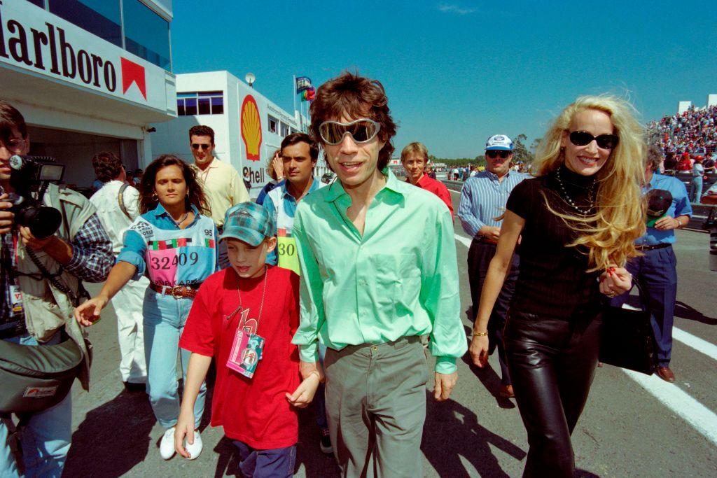 Mick Jagger 1995