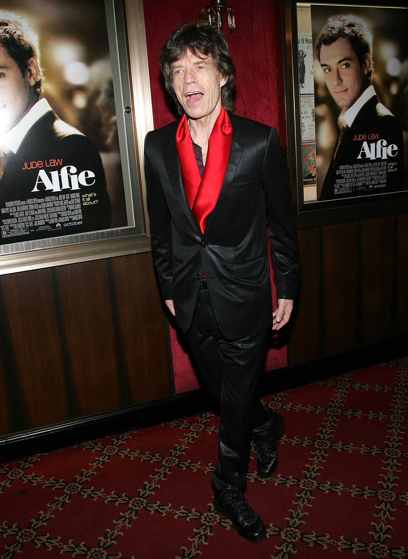 Mick Jagger 2004