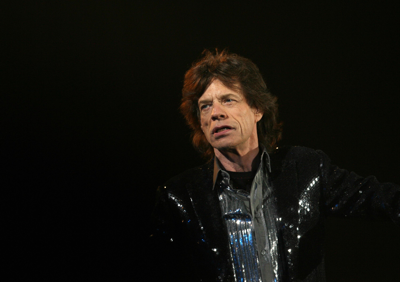 Mick Jagger 2006 Rolling Stones