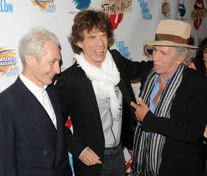 Mick Jagger 2010 Charlie Watts Keith Richards