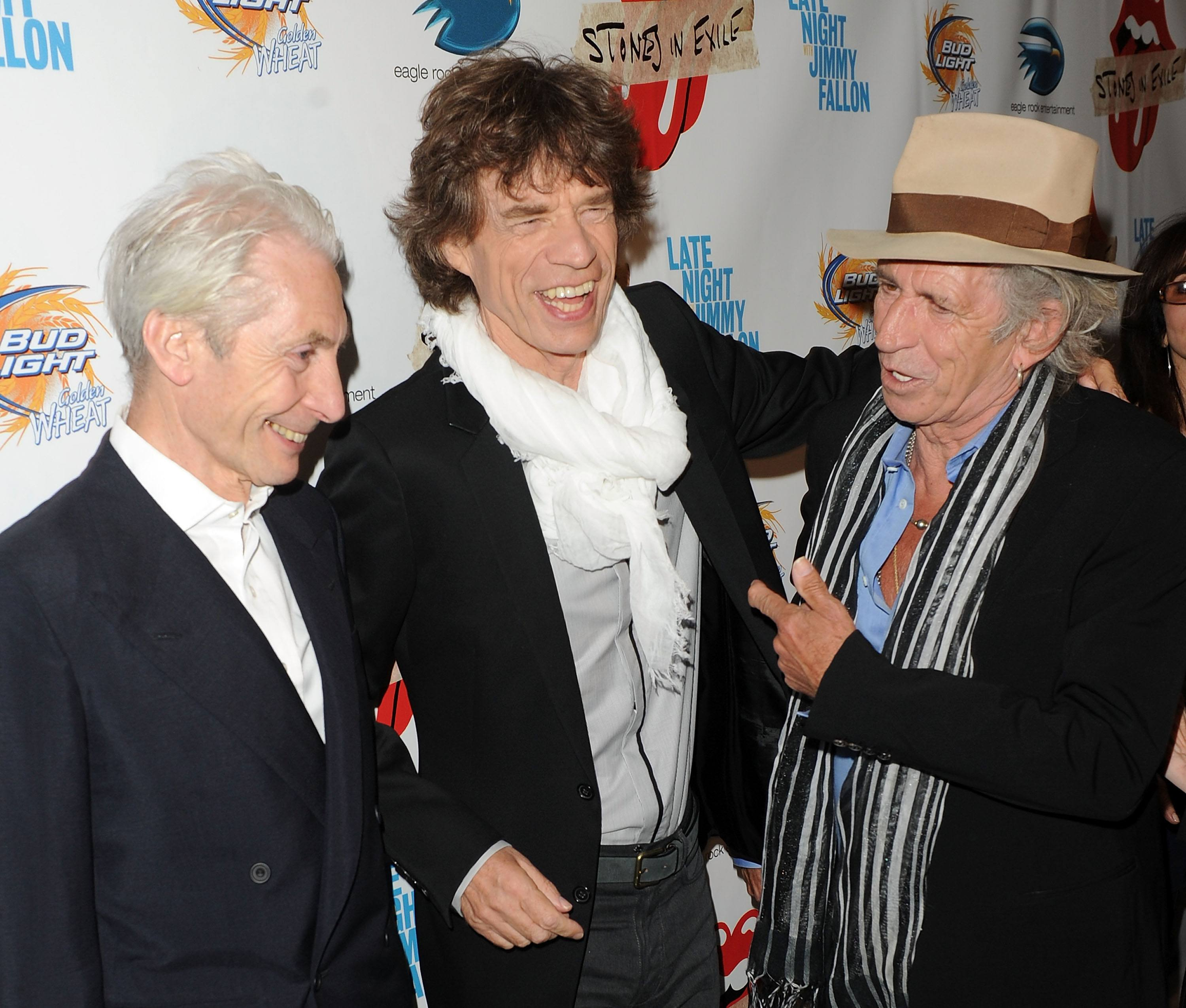 Mick Jagger 2010 Charlie Watts Keith Richards