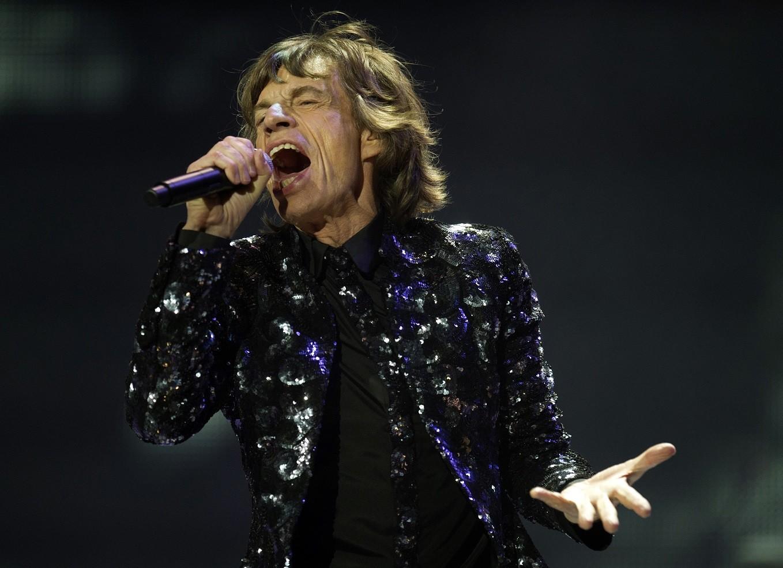 Mick Jagger 2012