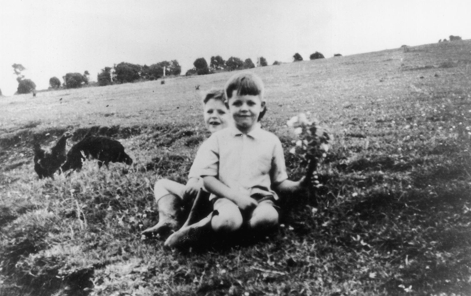 Paul McCartney age 6, 1948