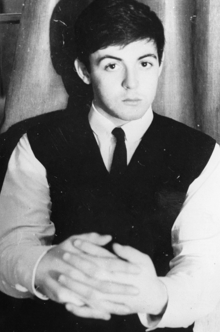 Singer-songwriter Paul McCartney of The Beatles
