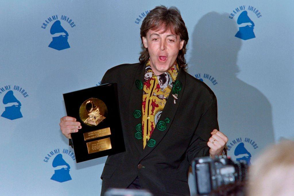 Paul MCCARTNEY Lifetime Achievement Grammy