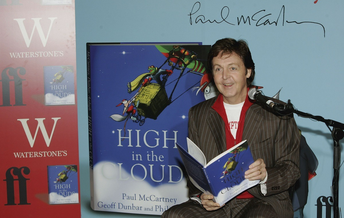 Paul McCartney London book signing 2005