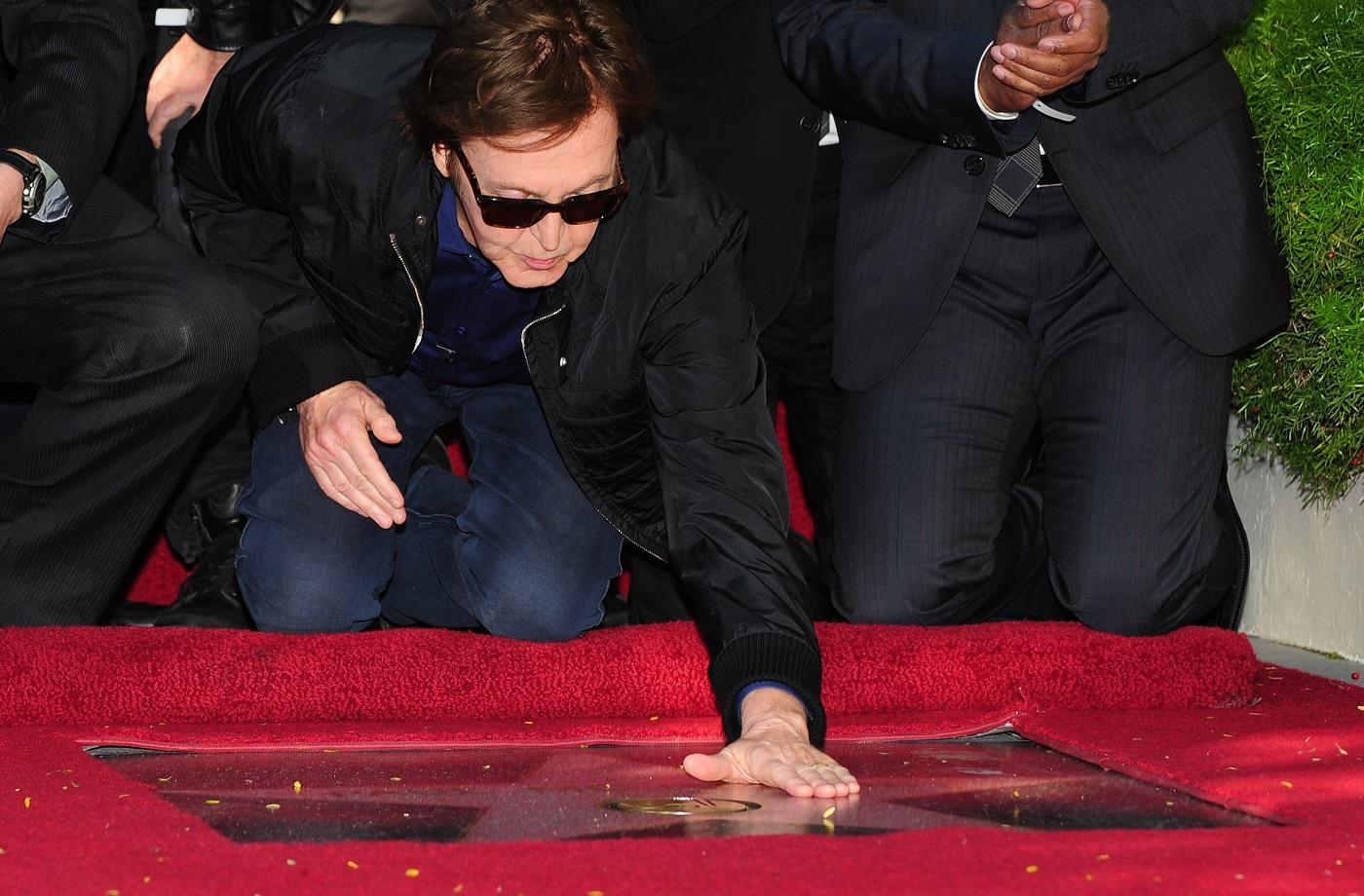 Paul McCartney Hollywood Walk of Fame