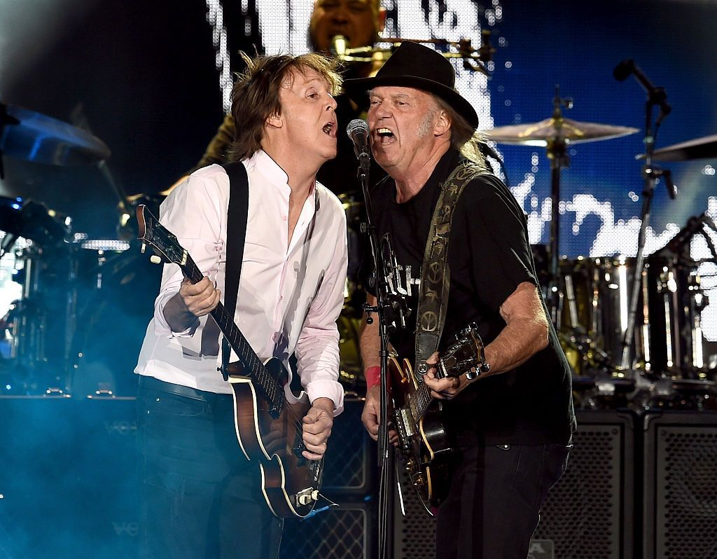 Paul McCartney and Neil Young 2016