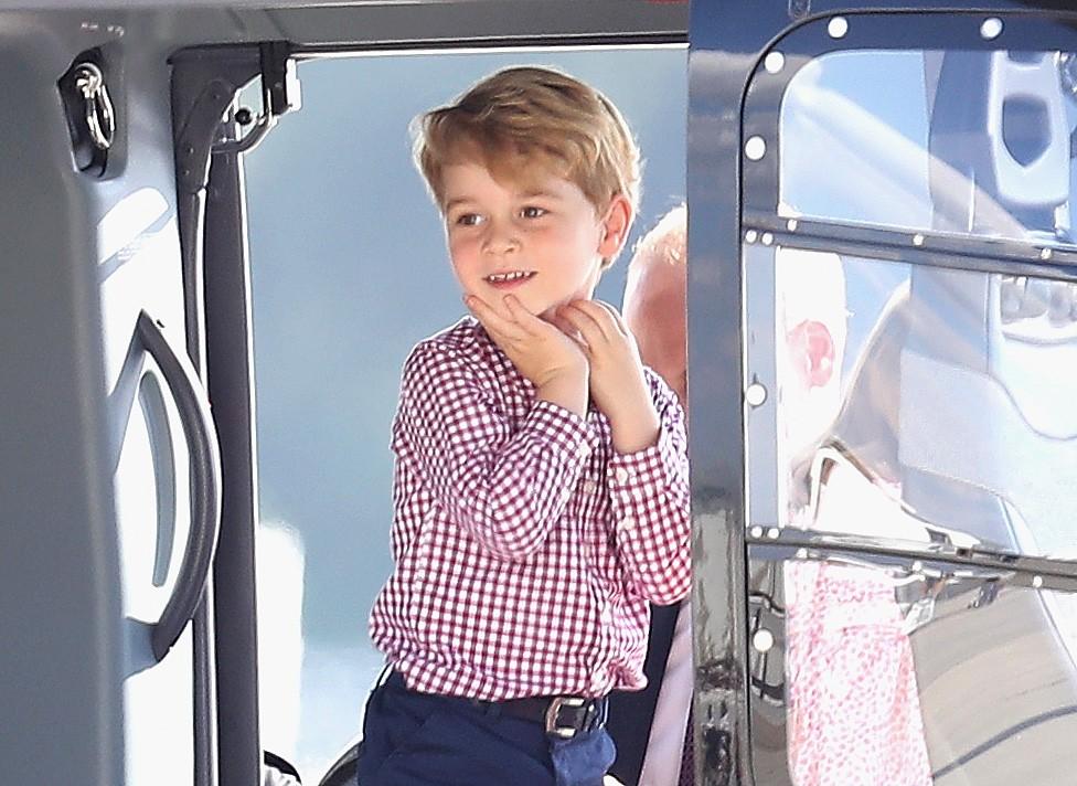 Prince George face