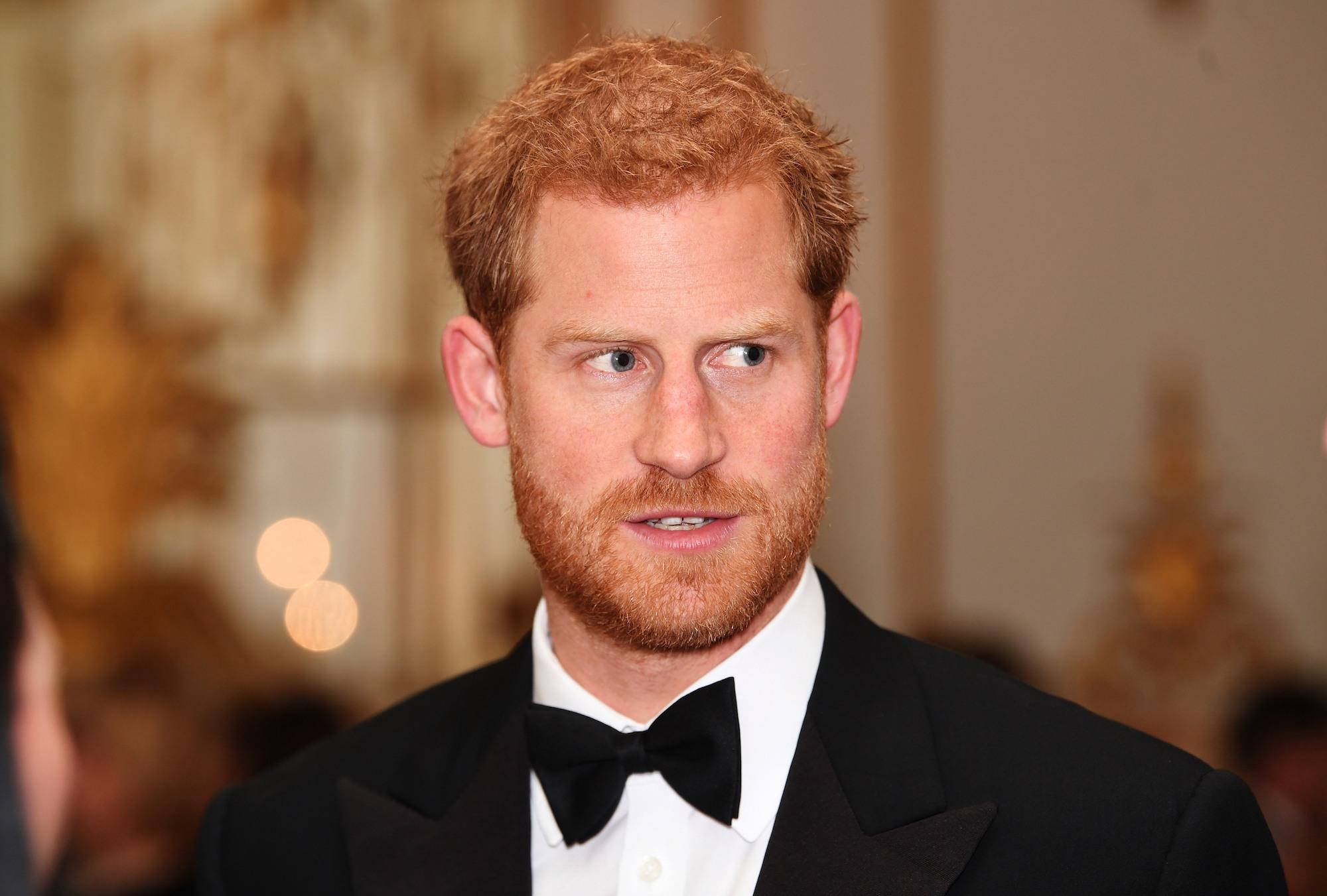 Prince Harry attends 100 Women in Finance Gala Dinner