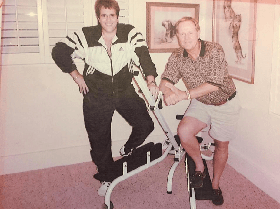 Pro golfer Jack Nicklaus with his ProFlex Stretch
