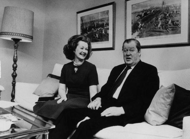 Lord Spencer and Lady Spencer in 1981