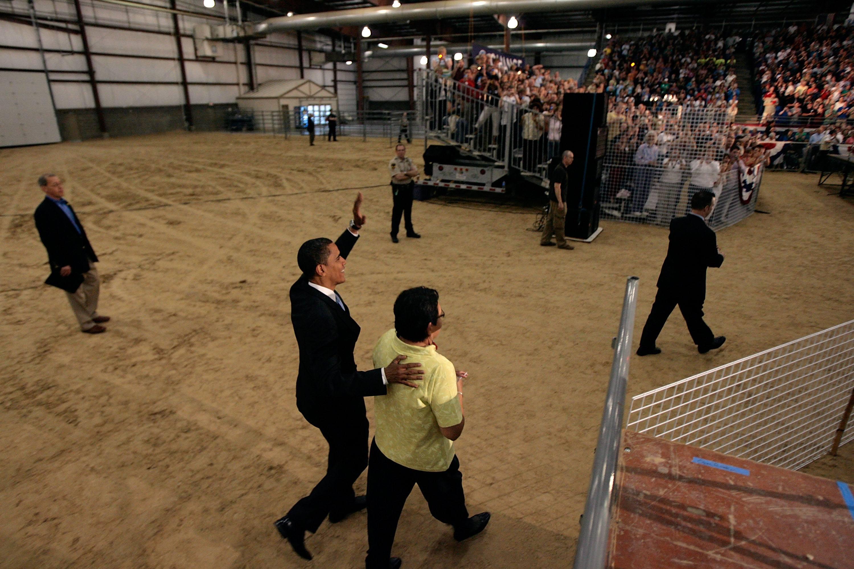Barack Obama in Rapid City, S.D.