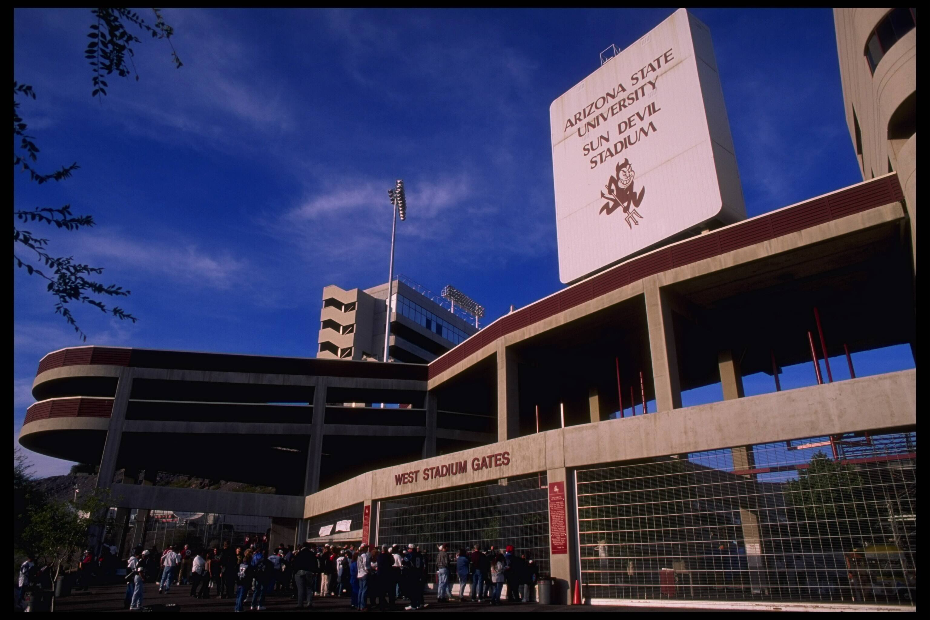 Sun Devil Stadium in Tempe, Arizona
