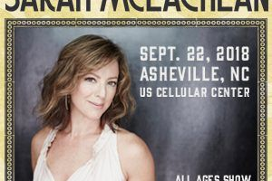 Sarah McLachlan Performing Asheville Benefit Concert to Support Pediatric Cancer Patients