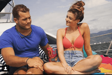 Tia Booth Colton Underwood