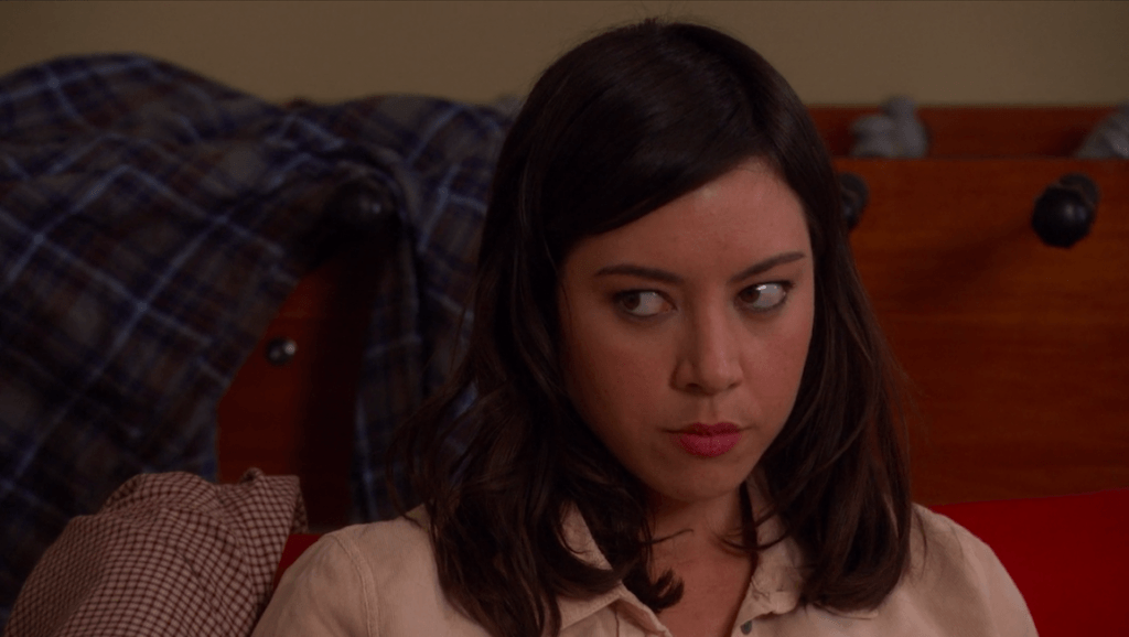Aubrey Plaza in Parks and Recreation