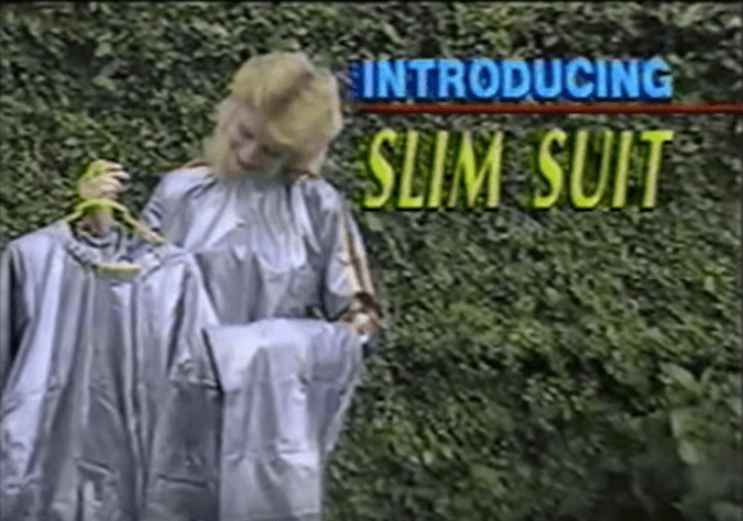 Slim Suit commercial