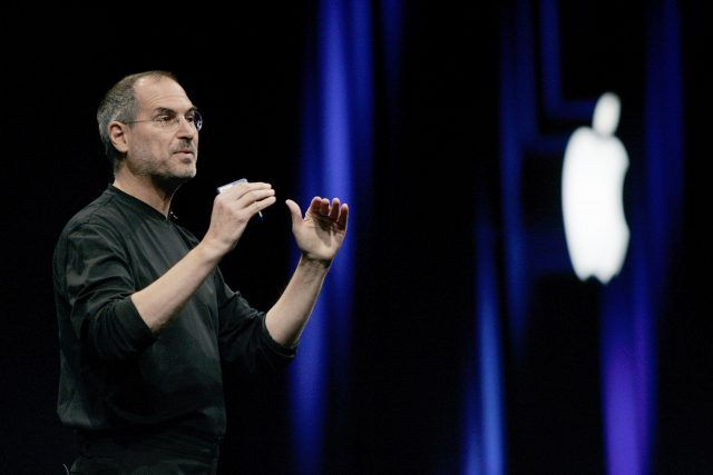 Steve Jobs opens the Apple Worldwide Developers conference in 2005