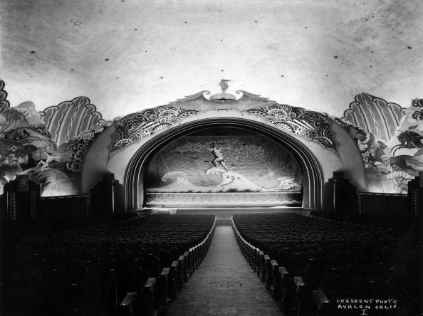 The Art Deco auditorium of the Casino Theatre in 1930