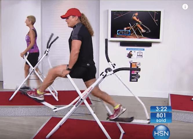 Tony Little's Gazelle workout machine