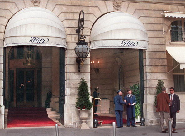 31 August 1997 in front of the Ritz hotel in Paris