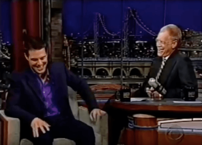 Tom Cruise on David Letterman
