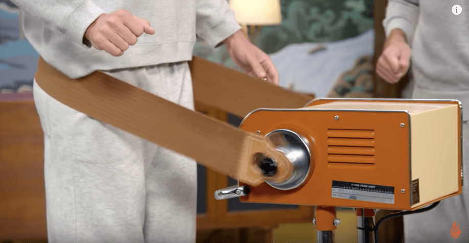 Vintage vibrating exercise belt