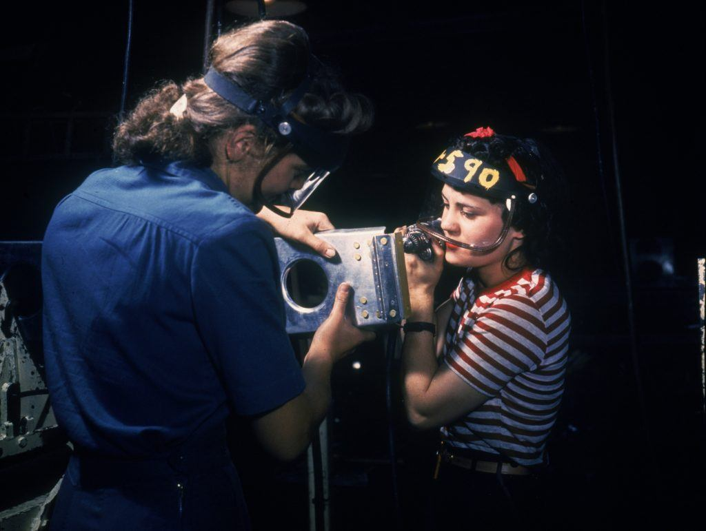 Working on the P-51