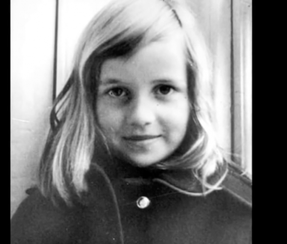 Young Princess Diana