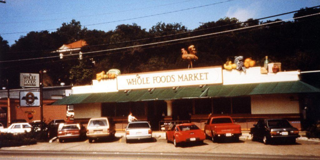 first whole foods store