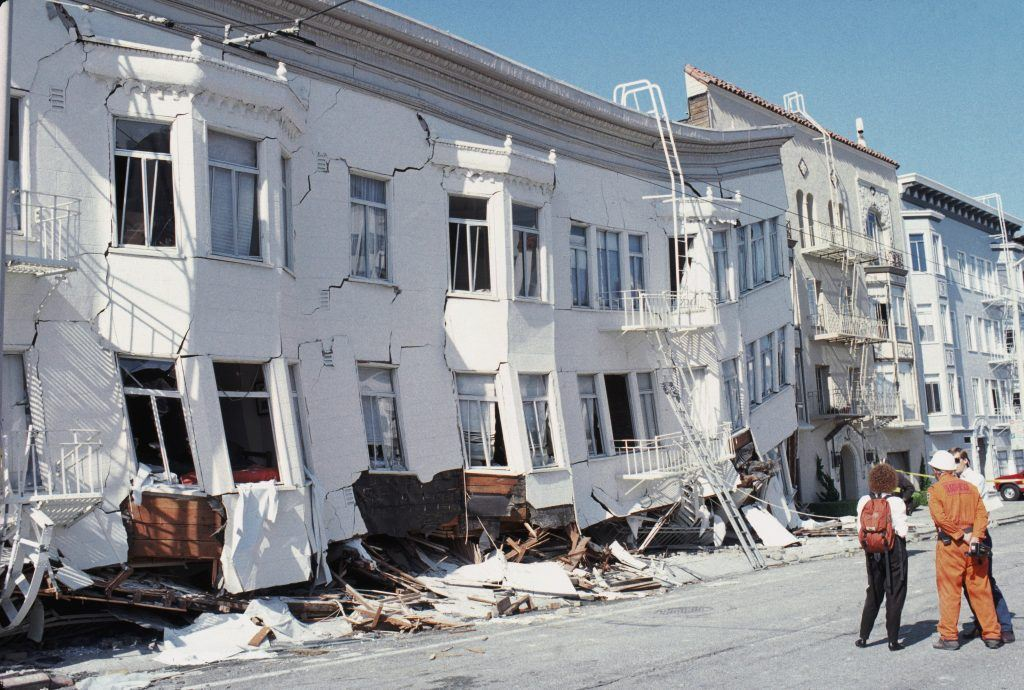 san francisco earthquake damage