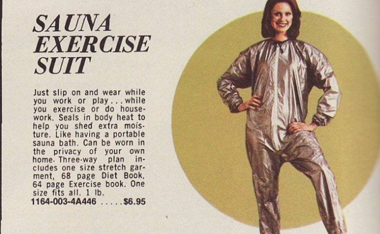 """One rendition of the """"sauna suit"""""""