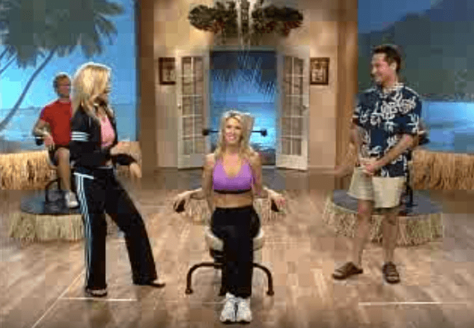 Commercial for the Hawaii Chair