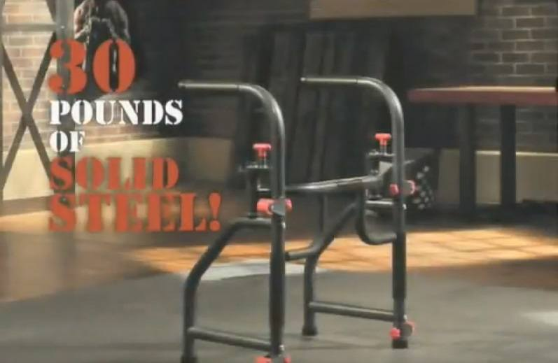 The Rack all-in-one home gym device