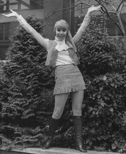Actress Judy Carne in 1969