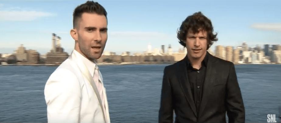 Adam Levine in a Saturday Night Live skit in 2007
